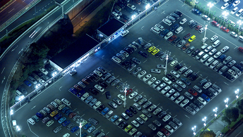 LED Car Parking Lighting